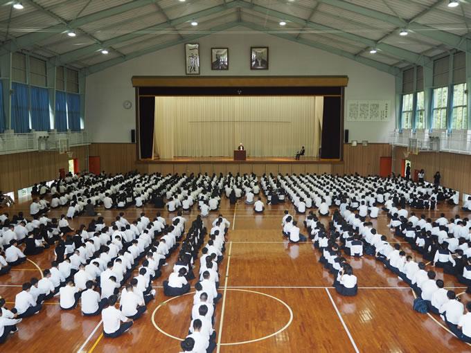 明徳義塾高等学校 竜キャンパス画像